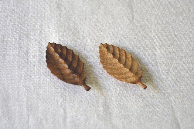 【Mountain】 木の葉の箸置き