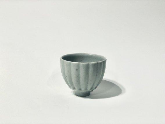 【若菜綾子】 彫りフリーカップ