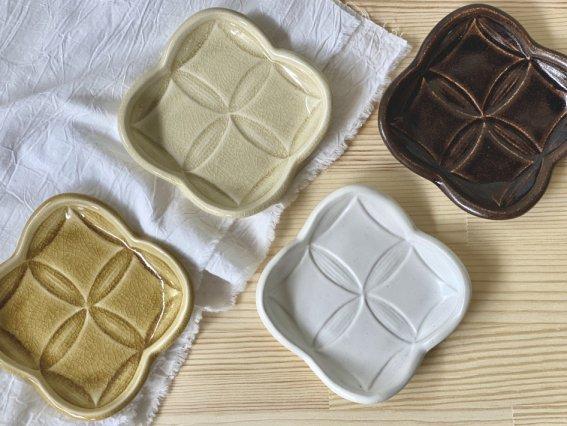 【Kinoki pottery】 綾果皿 S