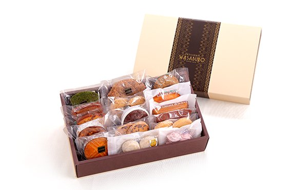焼き菓子16種