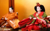 小出松寿 京十番親王 黄櫨染御袍