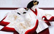 京都 尊正作 正絹 手描き友禅 光琳向鶴