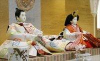 望月龍翠作 京九番 親王飾り 正絹 色織
