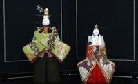 鈴木賢一 木目込雛人形 寿々喜雛 正絹 古布 時代裂  (江戸時代)