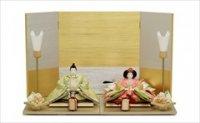 小出松寿作 京十一番 牡丹唐草文様 「萌黄桜」