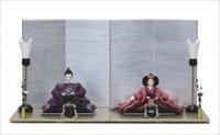 ひいな 清水久遊 三五 京織刺繍 スパンコール 桜流水と多様菱