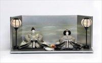京都 尊正 京十番親王 正絹手描京友禅 「鳳凰宇治-光雲海」