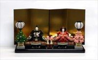 小出松寿 京十番親王 「金色の華手刺繍」