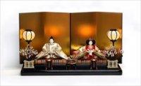 小出松寿 京十番 親王 「黄金に円華文様」