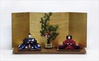 京都 尊正 京十番親王 正絹手描京友禅「椿」