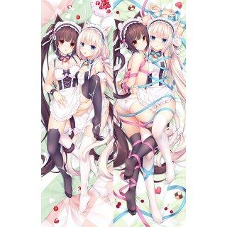 ネコぱら ショコラ&バニラ 抱き枕カバー 10261001101