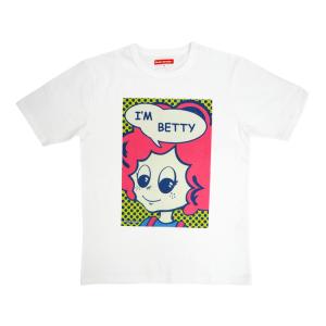 見返りベティTシャツ