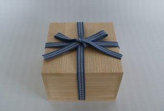 国産桐・桐箱(内のり14×7〜9)真田紐付き