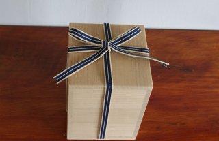 国産桐・桐箱(内のり12.5×15〜21)真田紐付き