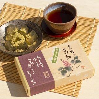 吉野の葛餅 (抹茶きな粉3袋付)
