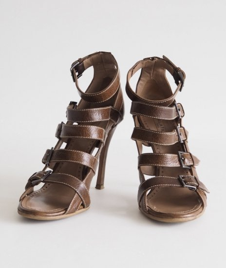 ALAiA /leather sandals