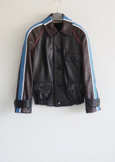 MARNI /leather jacket
