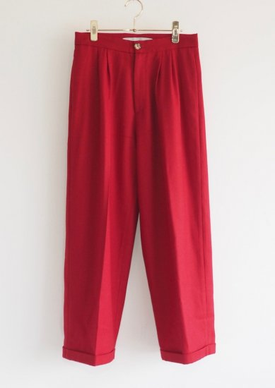 CHRISTINE ALCALAY/wool pants