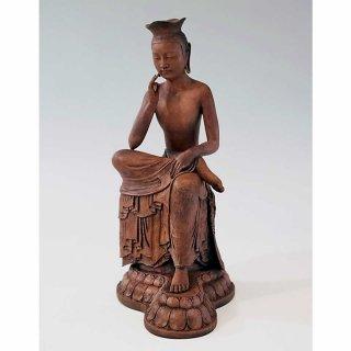 BuddhismArt/弥勒菩薩像(古色彩色)BUD-027