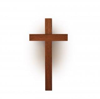 木製壁掛け十字架(中)