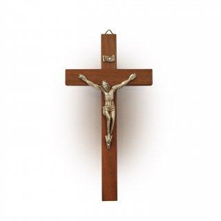 御像付き木製壁掛け十字架(中)