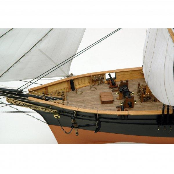 木製帆船模型 1/75 咸臨丸(帆付)
