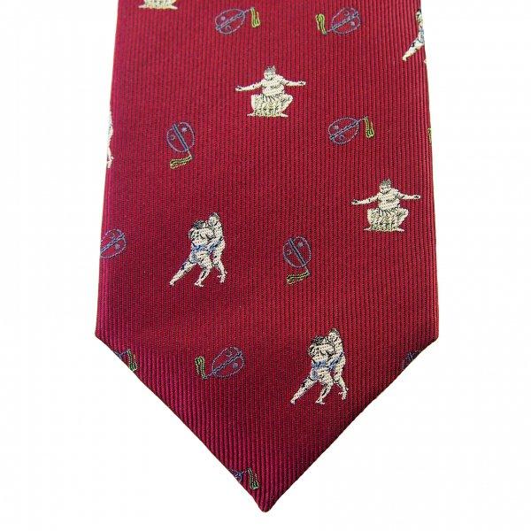 西陣織 オリジナルネクタイ 相撲
