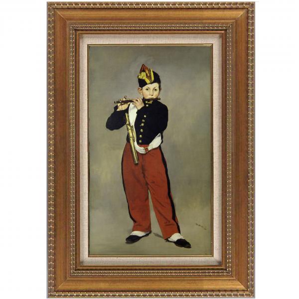 プリハード複製画/エドゥアール・マネ「笛を吹く少年」