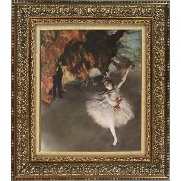 プリハード複製画/エドガー・ドガ「舞台の踊り子」