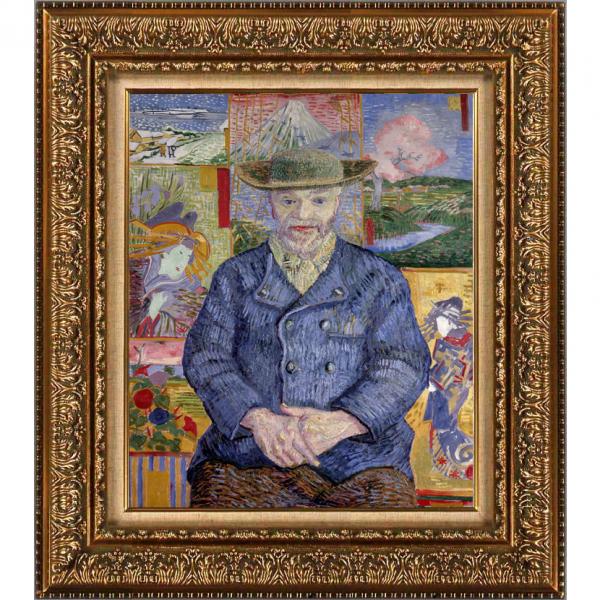 プリハード複製画/ヴィンセント・ヴァン・ゴッホ「タンギー親爺の肖像」