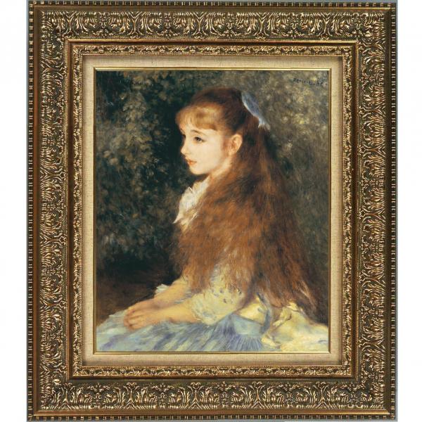 プリハード複製画/ピエール=オーギュスト・ルノワール「イレーヌ・カーン・ダンヴェルス嬢の肖像」