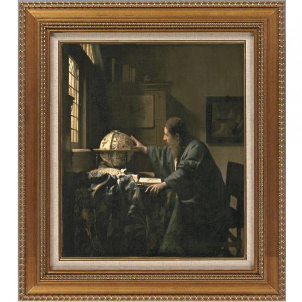 プリハード複製画/ヨハネス・フェルメール「天文学者」