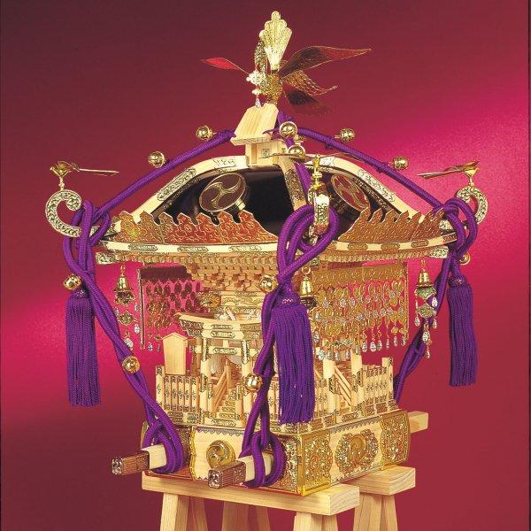 木製建築模型 1/5 江戸神輿