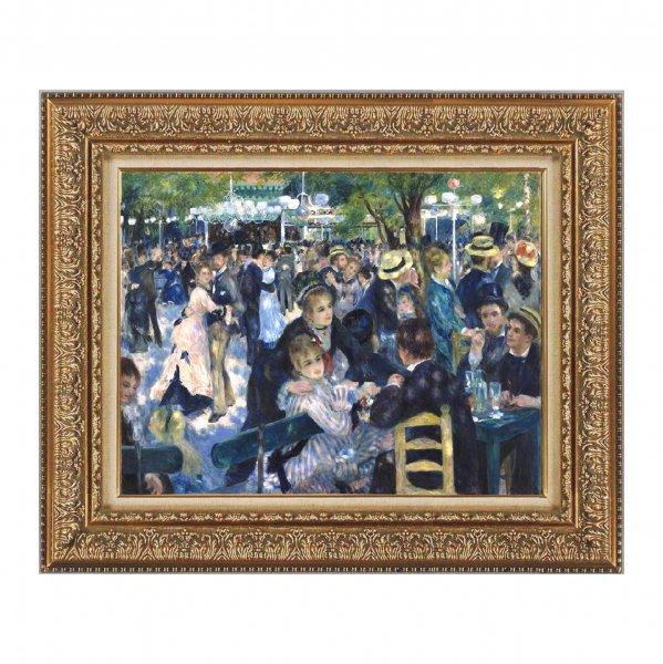 プリハード複製画/ピエール=オーギュスト・ルノワール「ムーラン・ド・ラ・ギャレット」