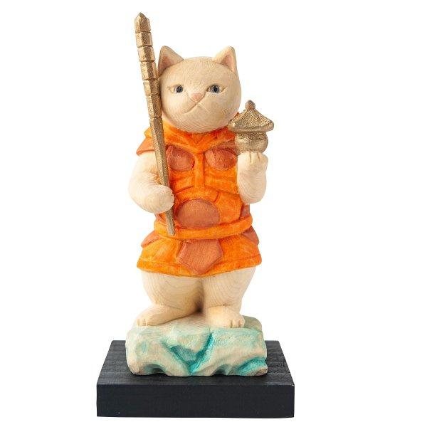 猫buddha 毘沙門天