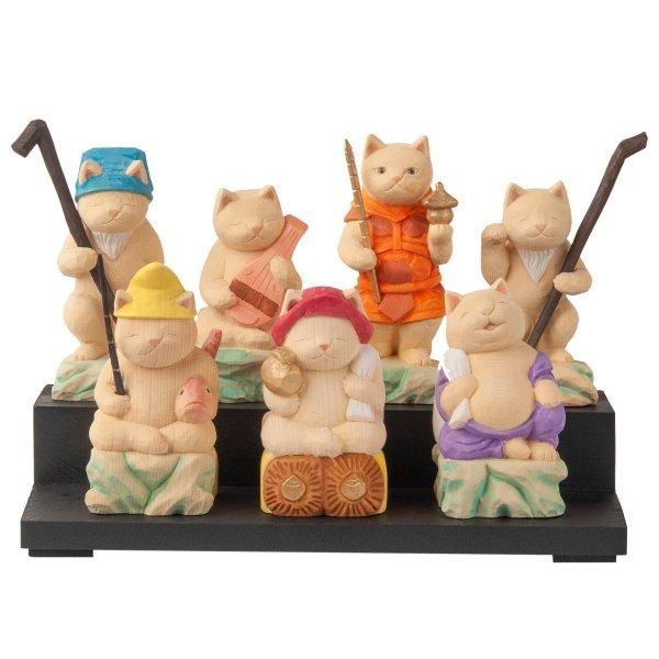 猫buddha 猫福神 7体セット