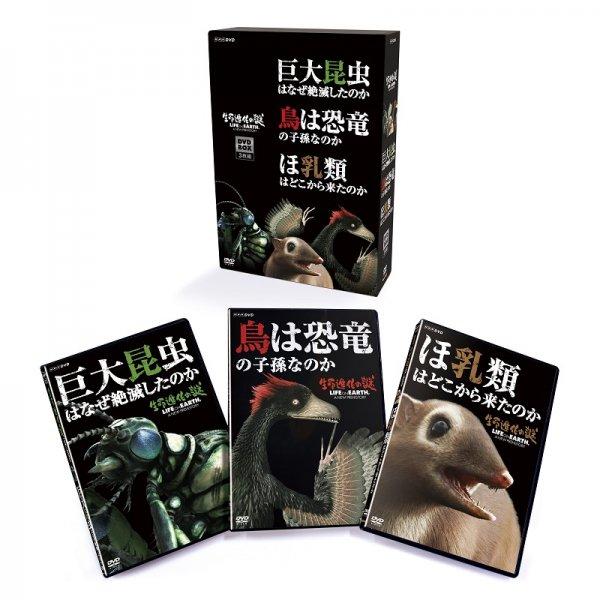 DVD/生命進化の謎 DVD-BOX 全3枚