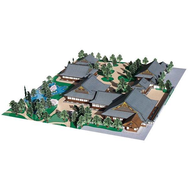 ファセット/ペーパークラフト 1/300 国宝 二条城 二の丸御殿