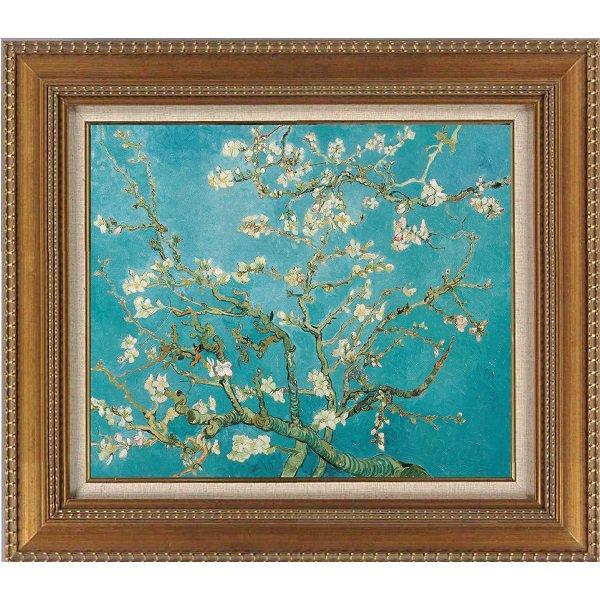 プリハード複製画/フィンセント・ファン・ゴッホ「花咲くアーモンドの木の枝」