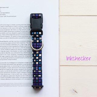 Inkchecker Collar<br>Blue<br>Size L