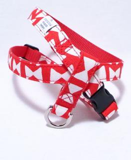 Butterfly harness<br>red<br>S/M/L