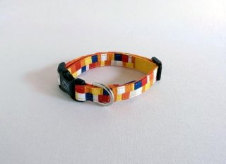 Pixel Collar<br>Size S<br>Yelow