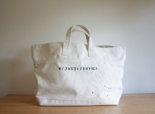 CARRY BAG <br>CottonTote[Paint]<br>Natural