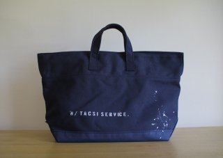 CARRY BAG <br>CottonTote [Paint]<br>Navy