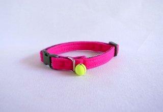 Cat collar<br>Felt<br> [pink]