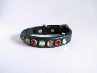 HTC collar<br> Flag (Black)<br>Size S-10in