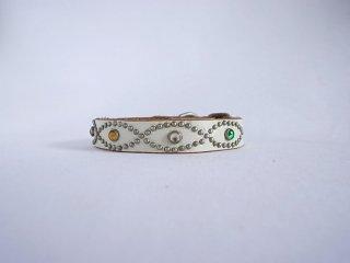 HTC collar<br> Noel (White)<br>Size M-14in