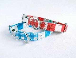 Checkborder Collar<br>Size M