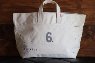 "CARRY BAG <br>CottonTote  ""No 6""<br>Natural<br>"
