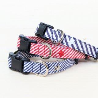 Hickory denim Collar<br>Size S